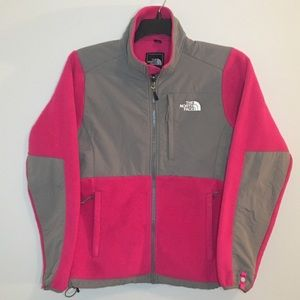 The North Face Pink Fleece & Gray Cotton coat, SP